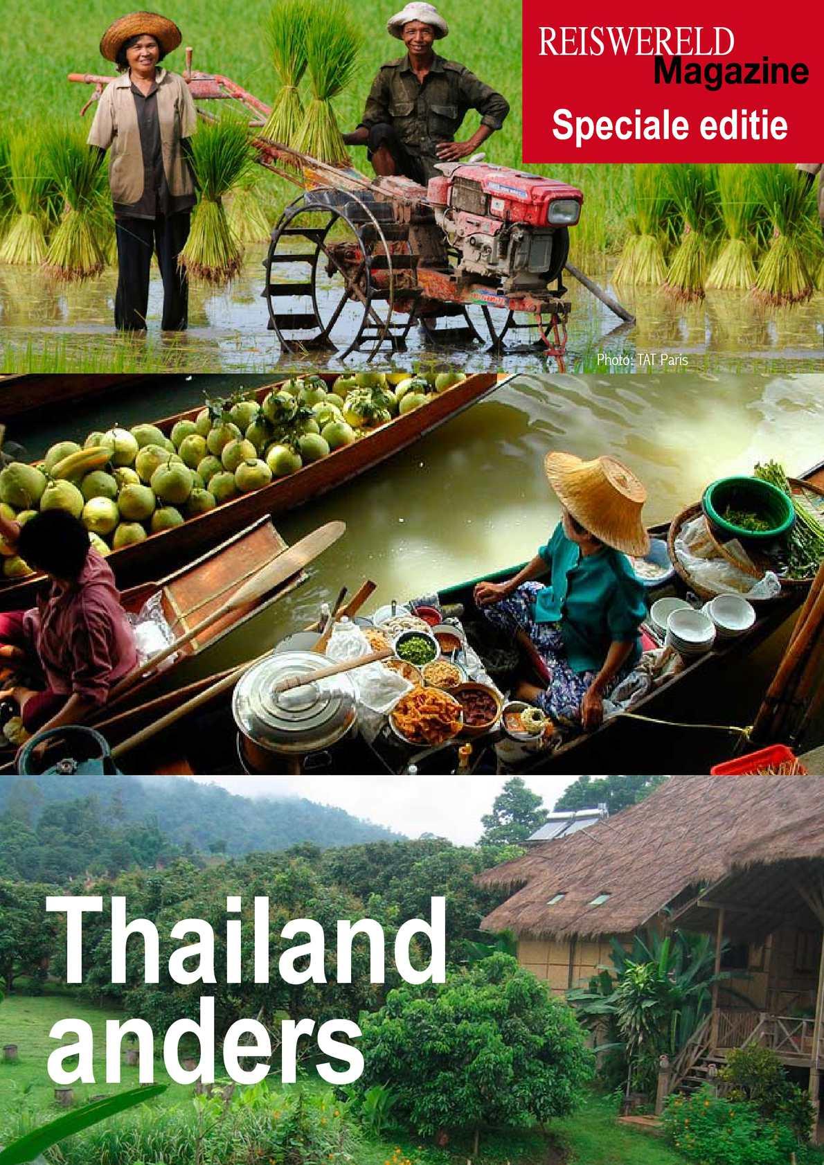 "Thailand ""anders"": reportage van Reiswereld Magazine.be"