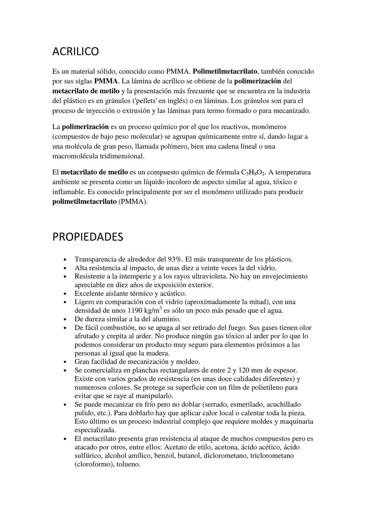Calaméo - Acrílico