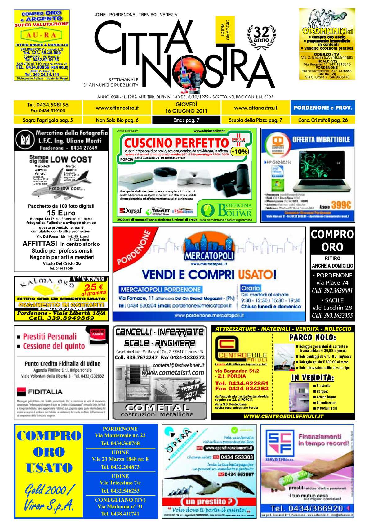 Calaméo Citt Nostra Pordenone Del 16 06 2011 N 1282