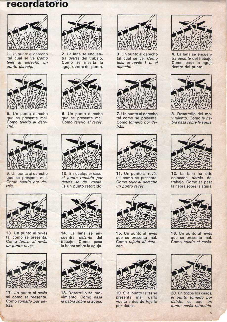 Calaméo - MON TRICOT ESPECIAL-1984-secretos de tejidos