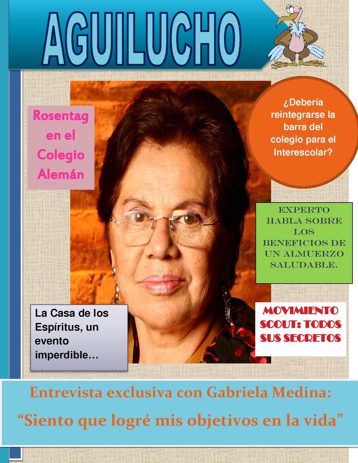 Revista digital, Aguilucho.