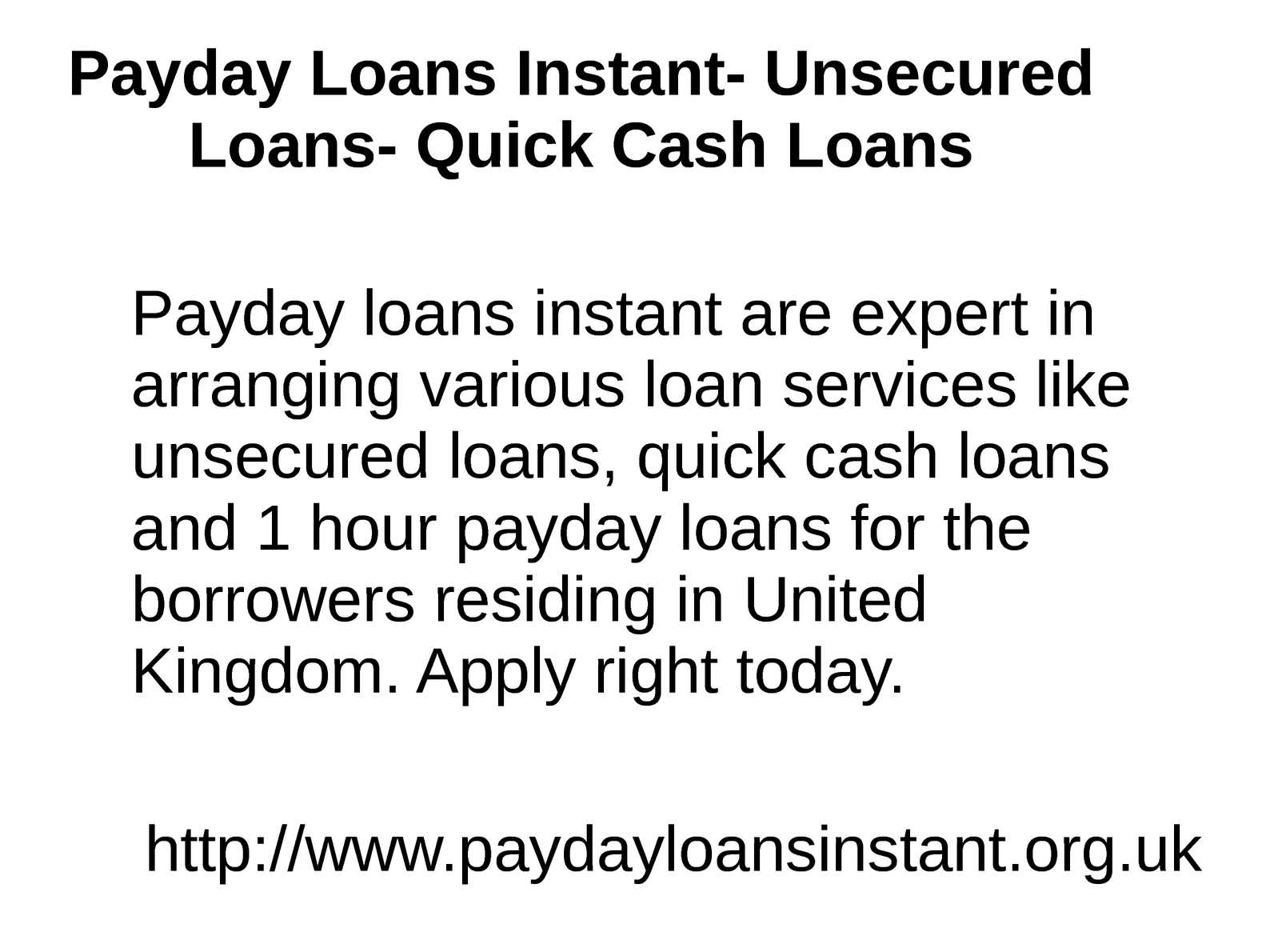 Payday loans compared photo 6