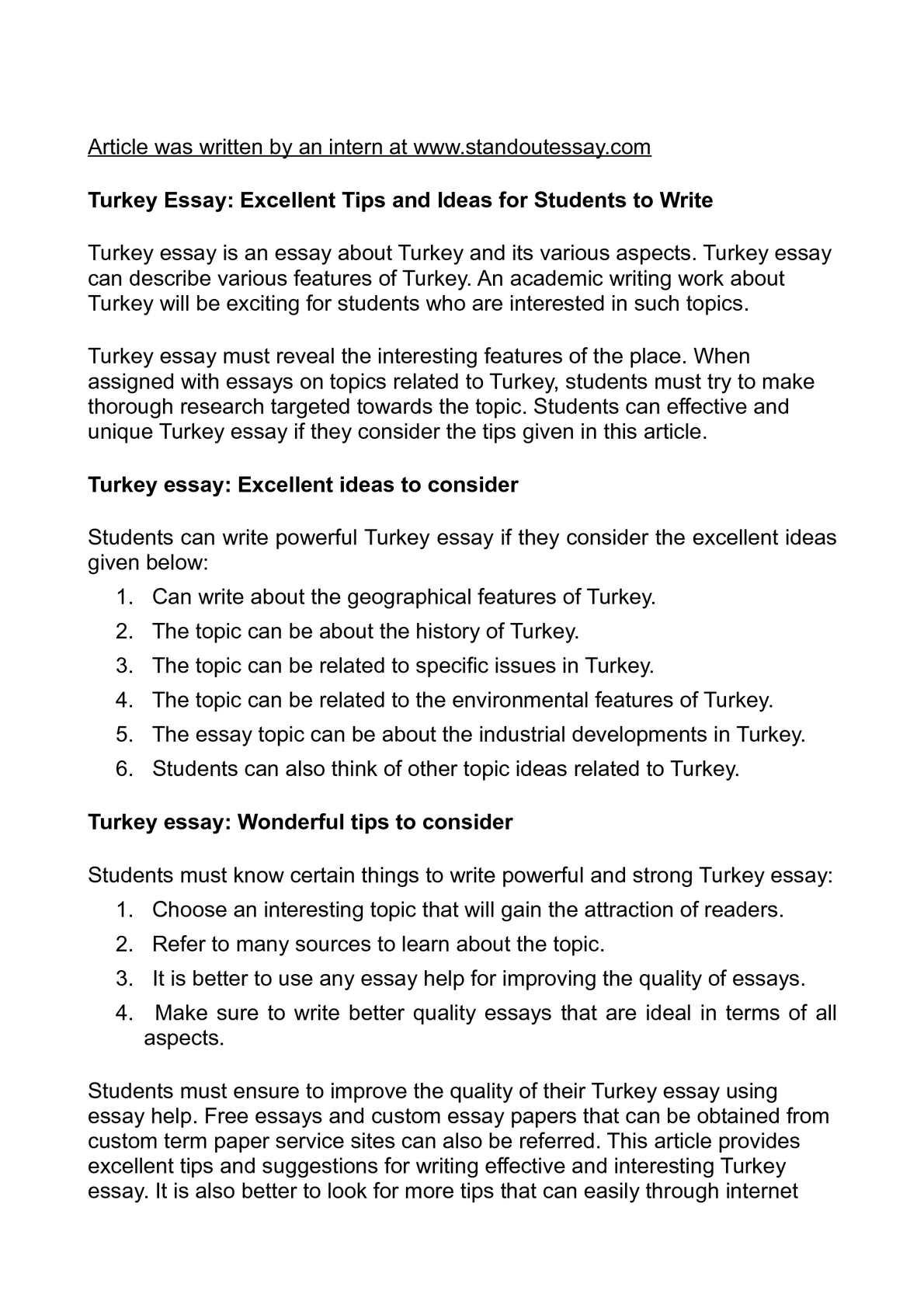 top 5 essay topics and tips