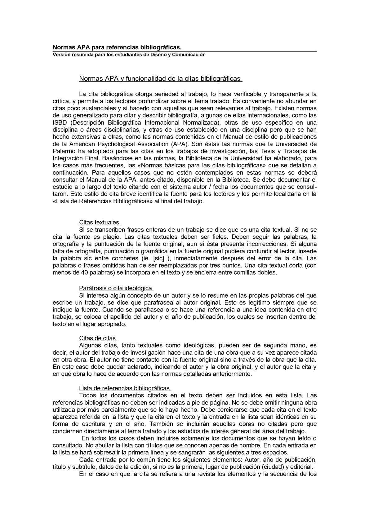 Calaméo - Usos de la referencia APA