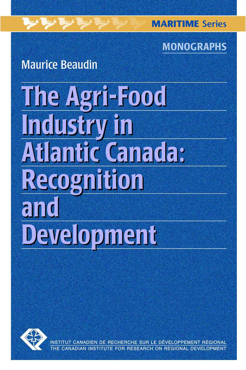 Calamo The Agri Food Industry In Atlantic Canada Circuit Board 19771982 Gauge Cluster Printed From Mid America