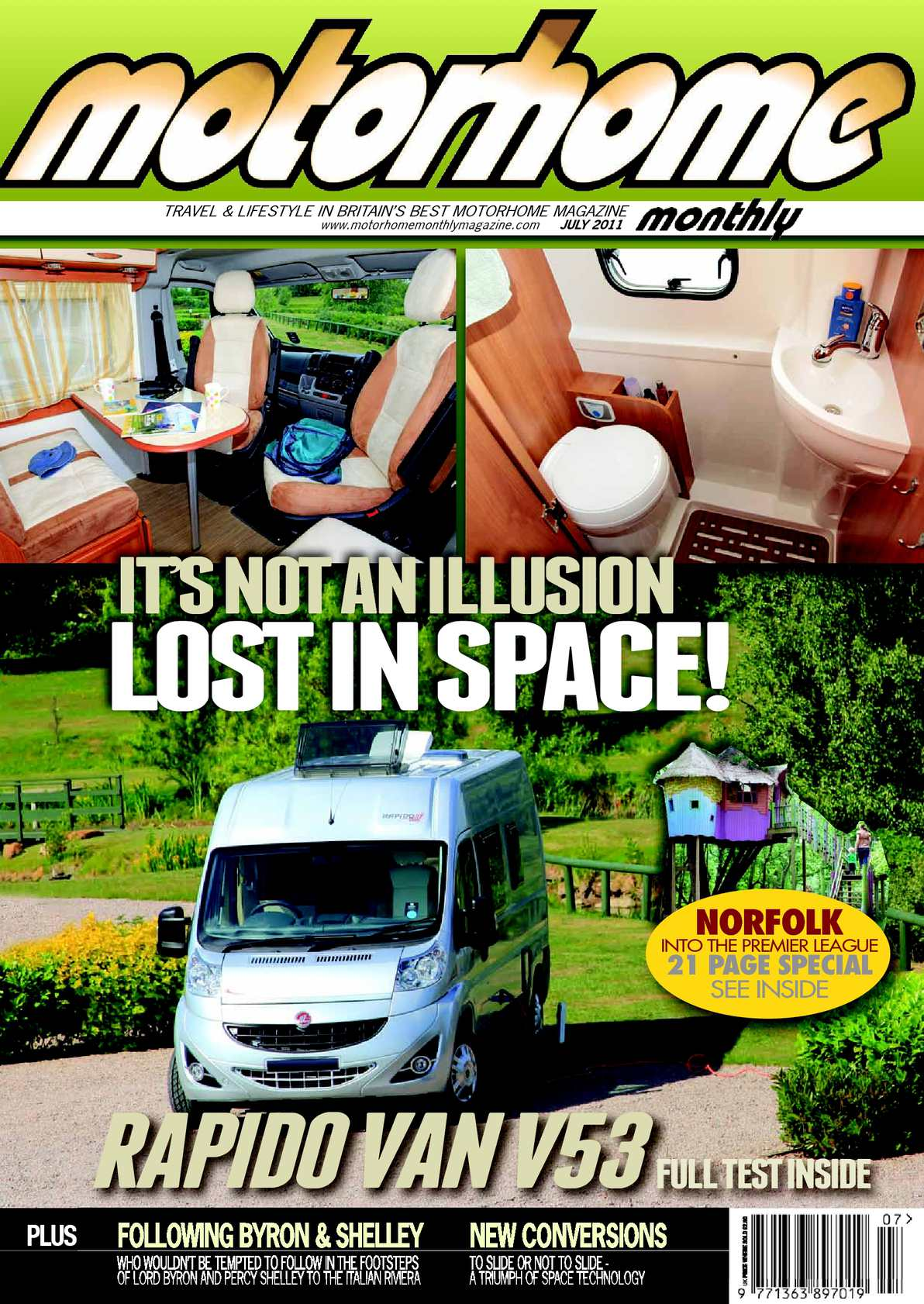 Calaméo July 2011 Motorhome Monthly