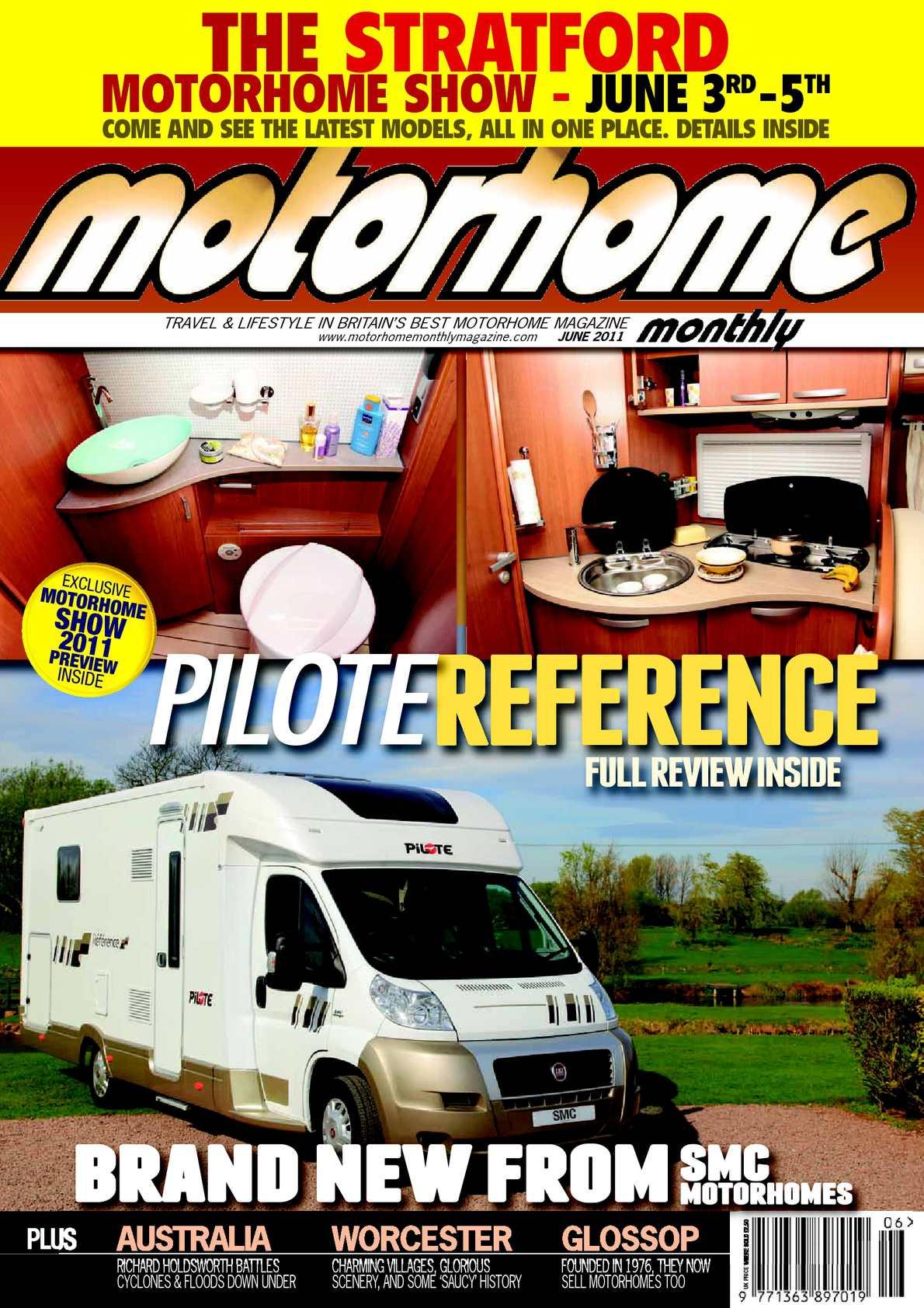 Calaméo June 2011 Motorhome Monthly