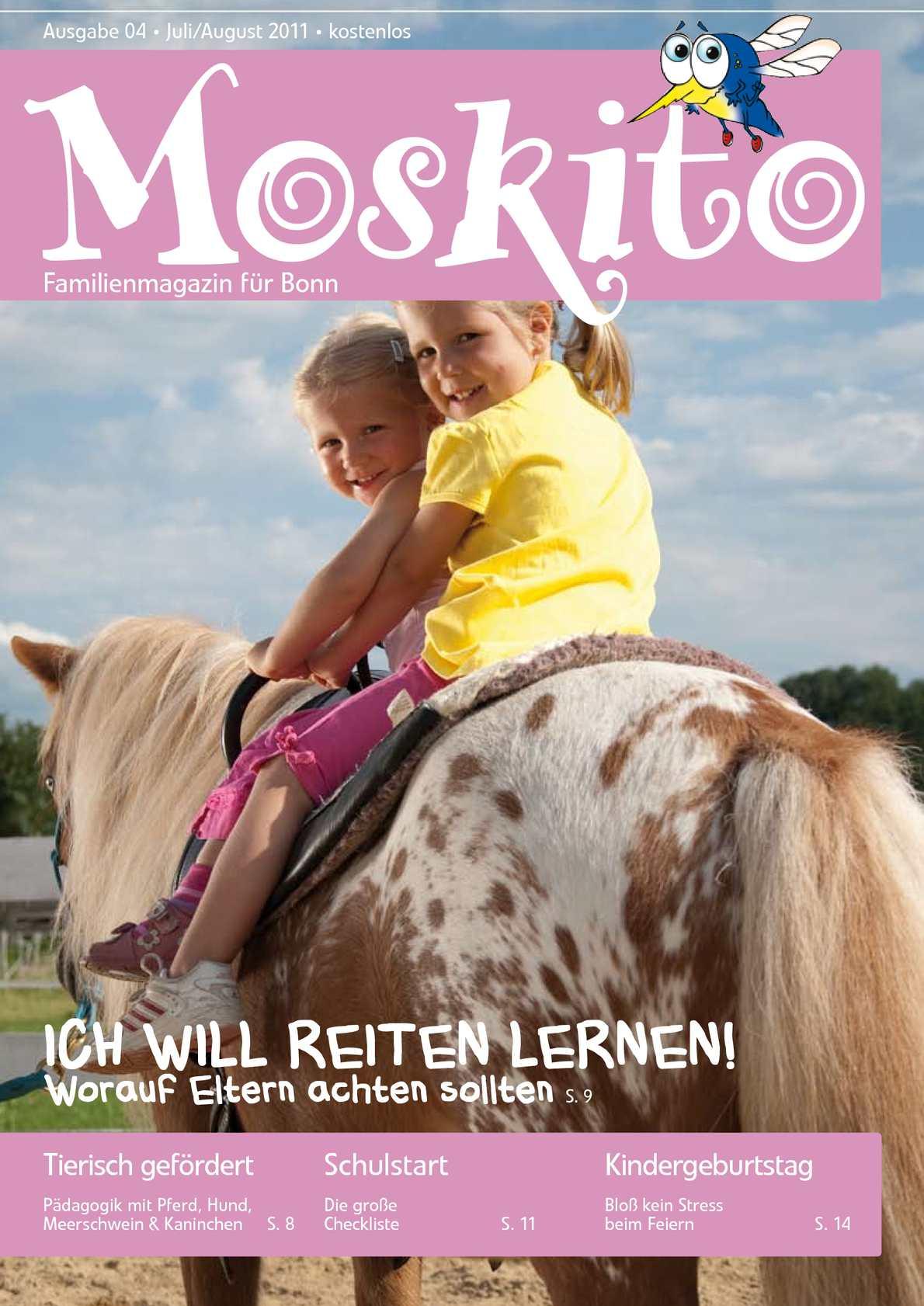 Calaméo - Moskito Familienmagazin für Bonn