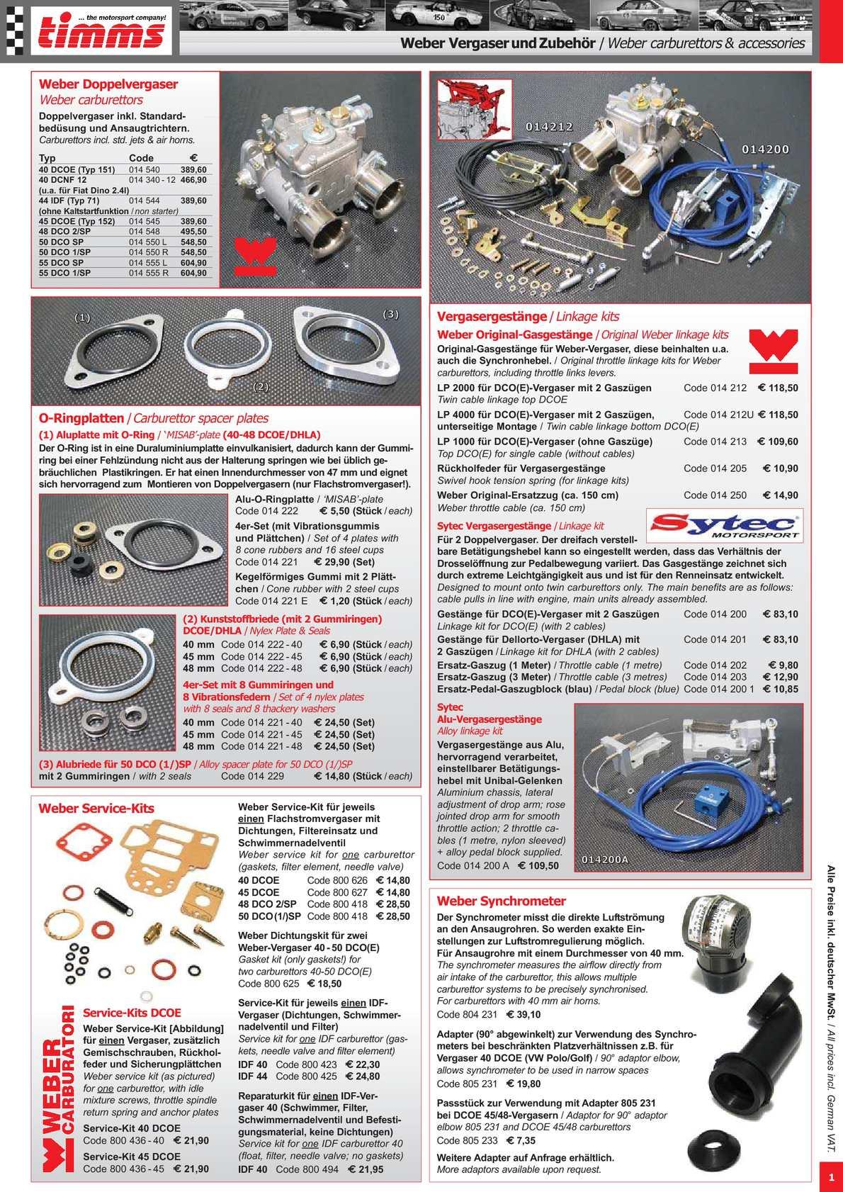 Calaméo - Timms-Autoteile / Katalog 2011