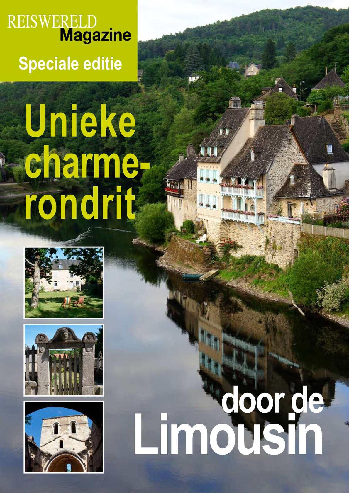 Unieke charmerondrit door de Limousin, een reportage van Reiswereld Magazine.be