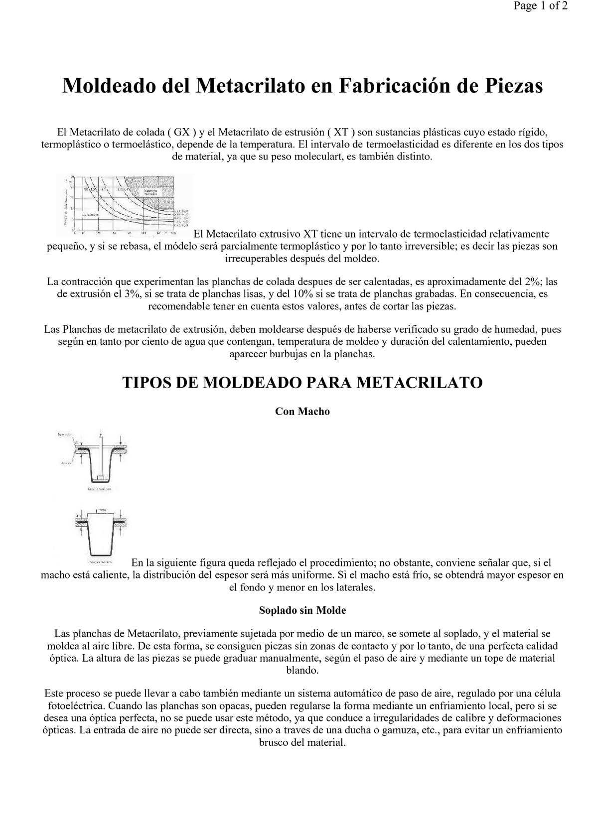 Calaméo - Moldeado del metacrilato en la fabricación de piezas