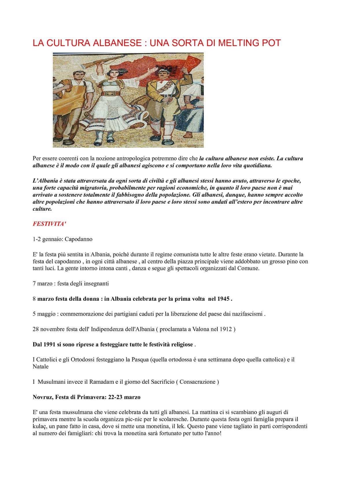 Auguri Di Natale In Albanese.Calameo Cultura Albania Per Libretto
