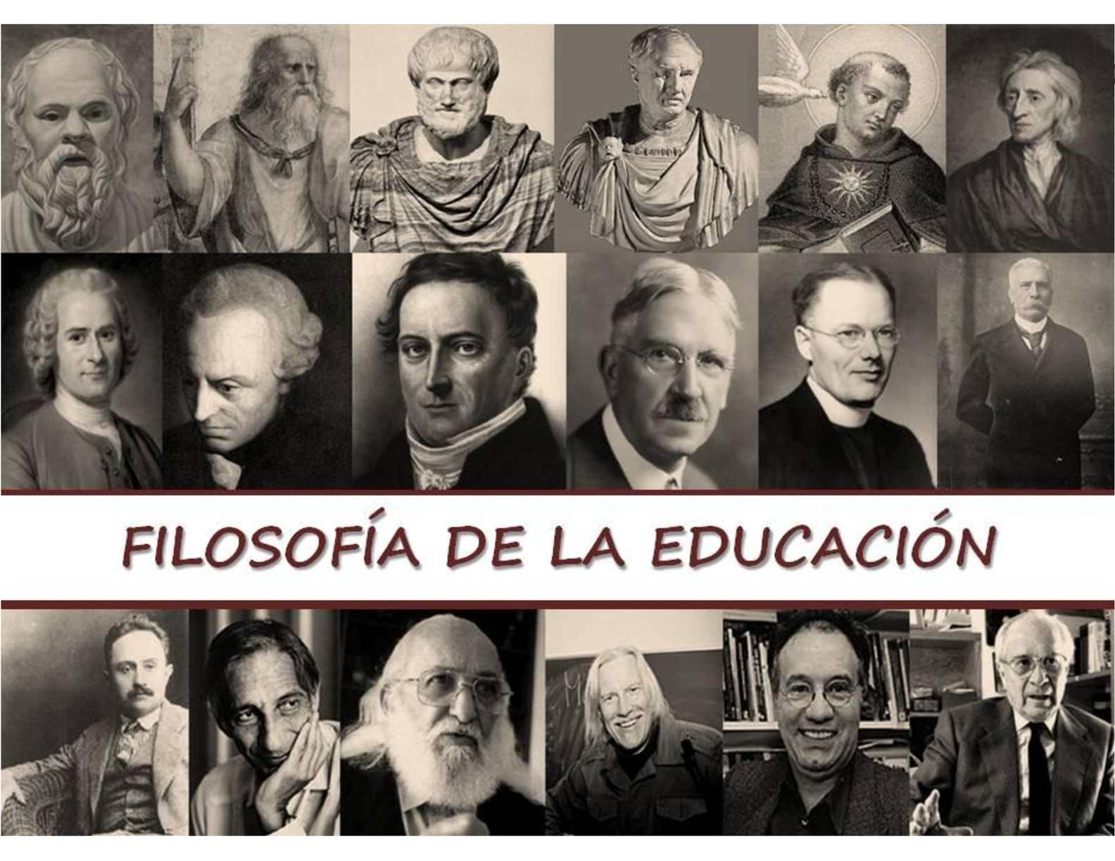 Reflexiones sobre la filosofía educativa