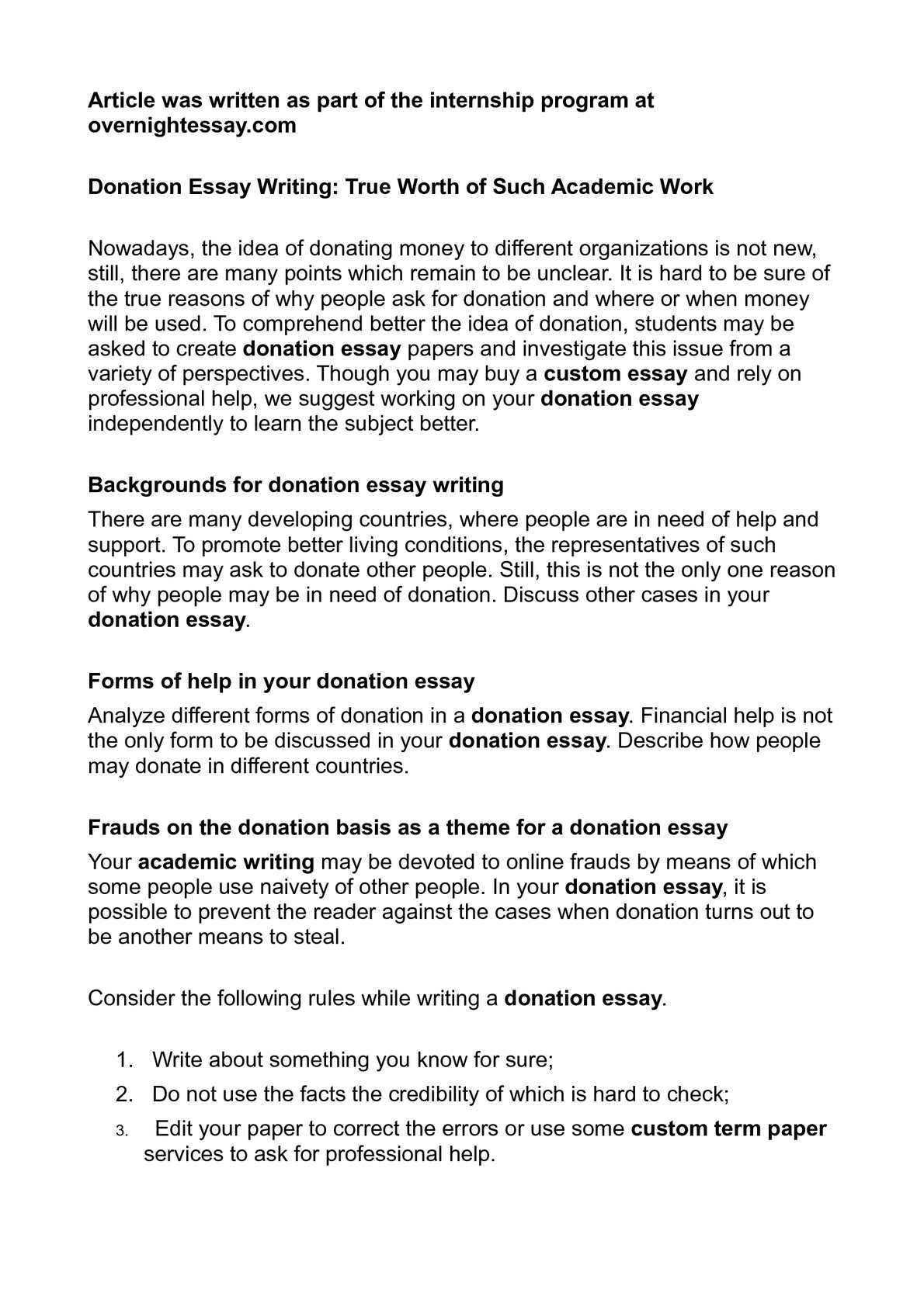 Narrative Essay Examples High School also High School Vs College Essay Calamo  Donation Essay Writing True Worth Of Such Academic Work General English Essays