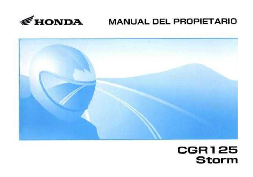 calam o manual de usuario honda storm sdh125 rh calameo com honda storm sdh125 manual manual moto honda storm 125