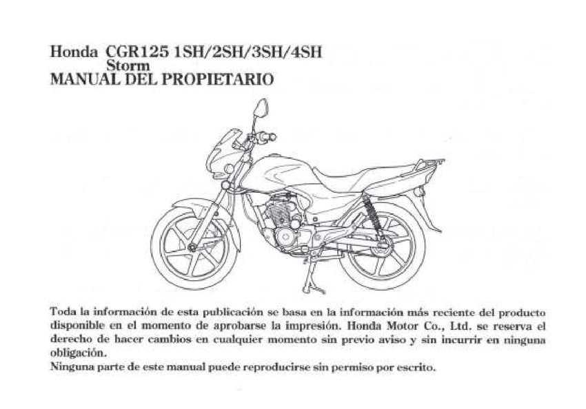 manual de usuario honda storm sdh125 calameo downloader rh calameo download manual honda storm 125 español manual de despiece honda storm 125cc en español