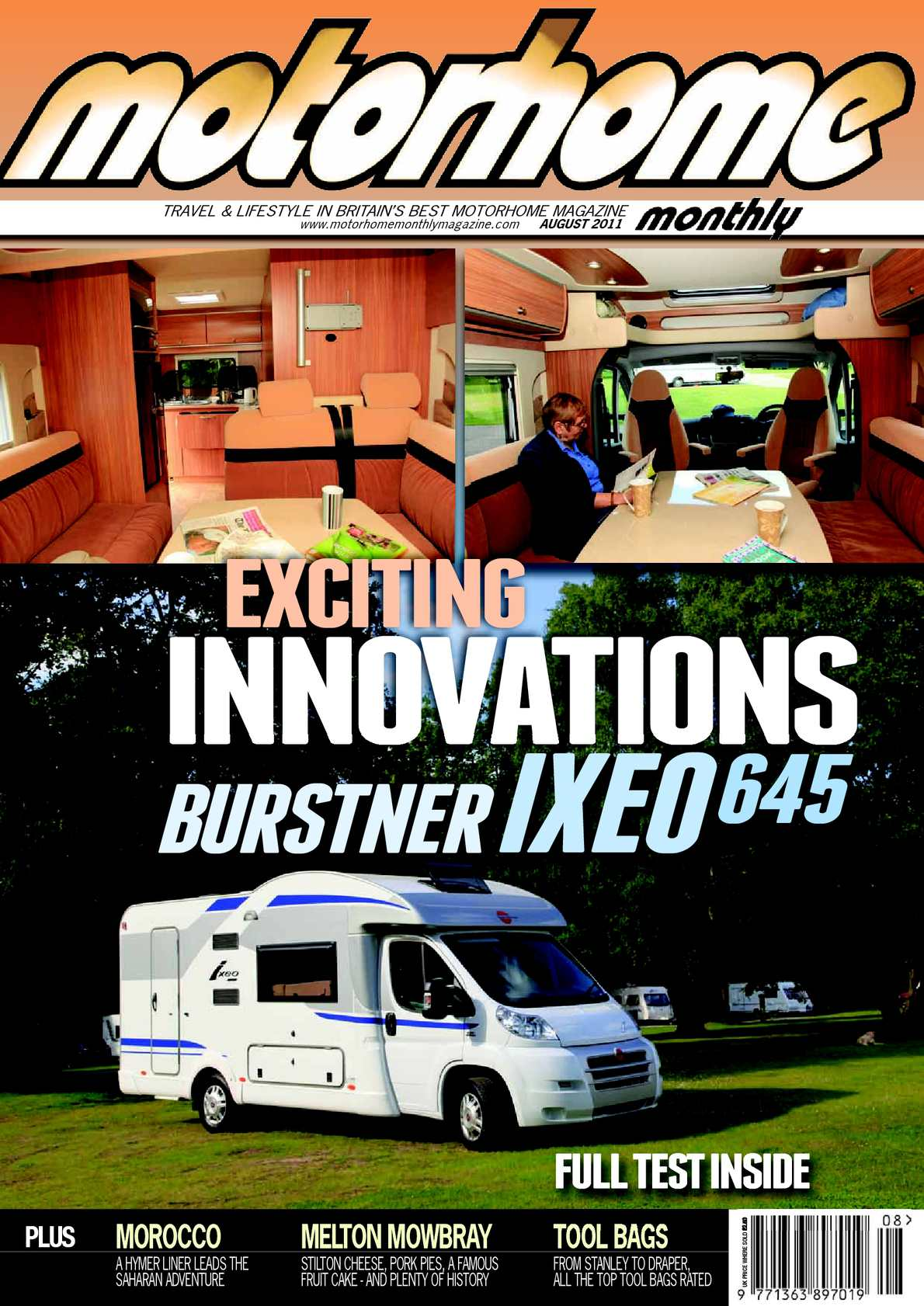 Calaméo August 2011 Motorhome Monthly Magazine