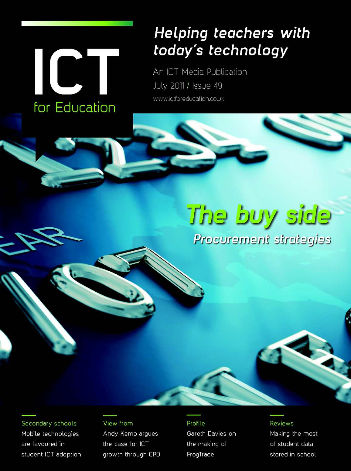 ICT for Education Issue 49: July 2011