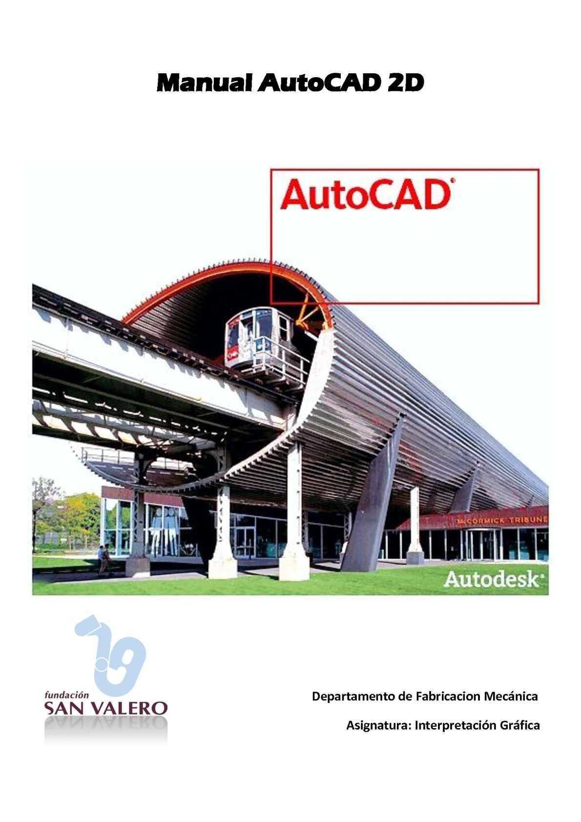 manual de autocad 2d calameo downloader rh calameo download manual de autocad 2018 pdf manual de autocad 2015