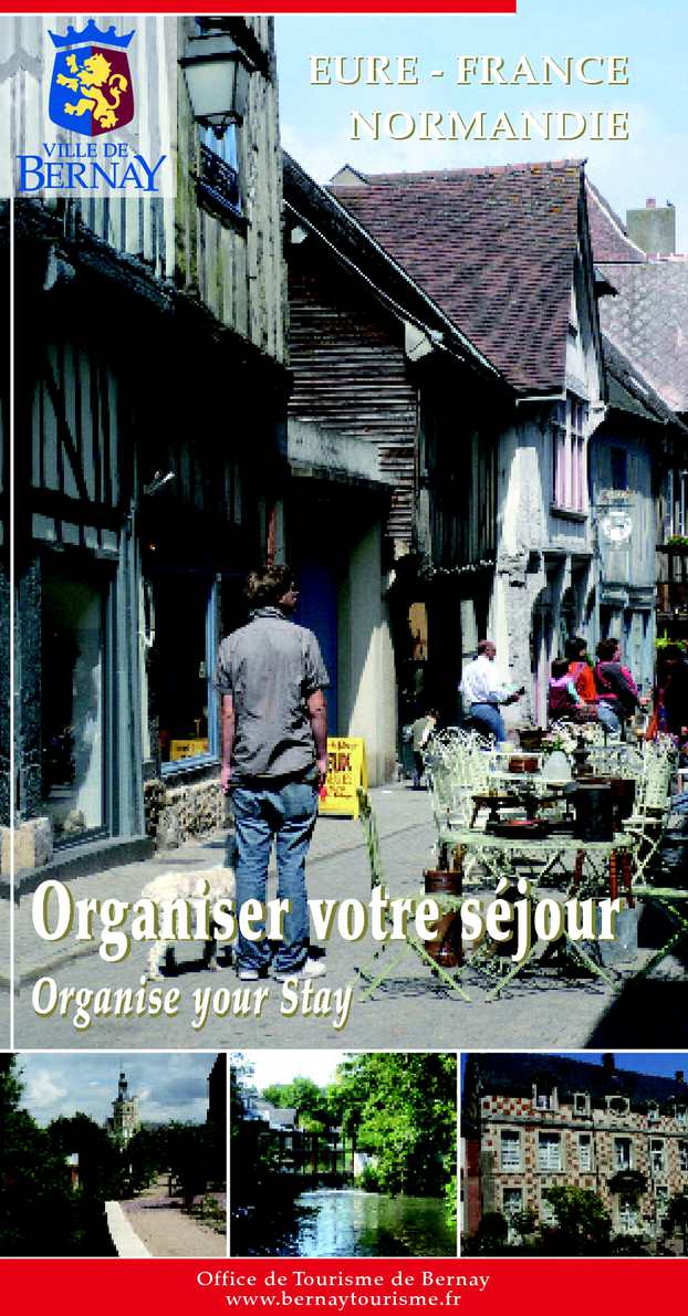 Calam o organiser votre s jour - Office de tourisme bernay ...
