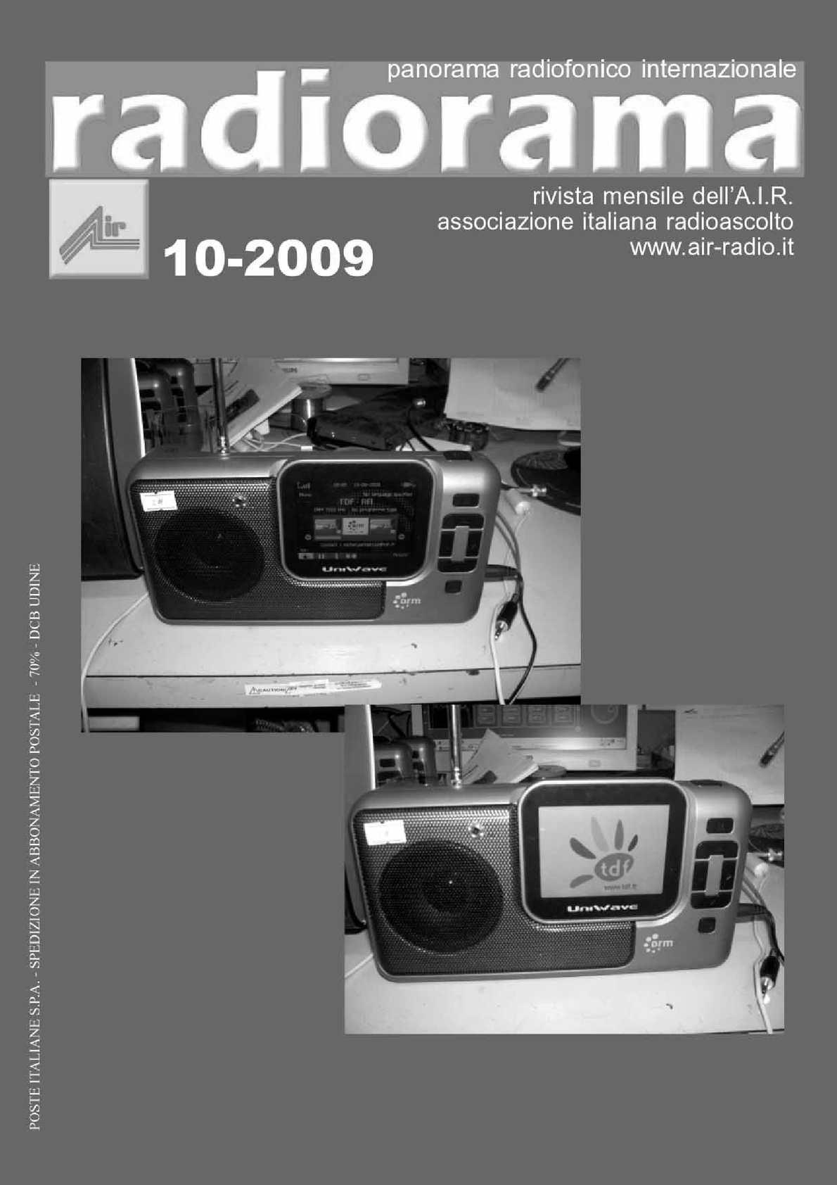 Radiorama - ottobre 2009