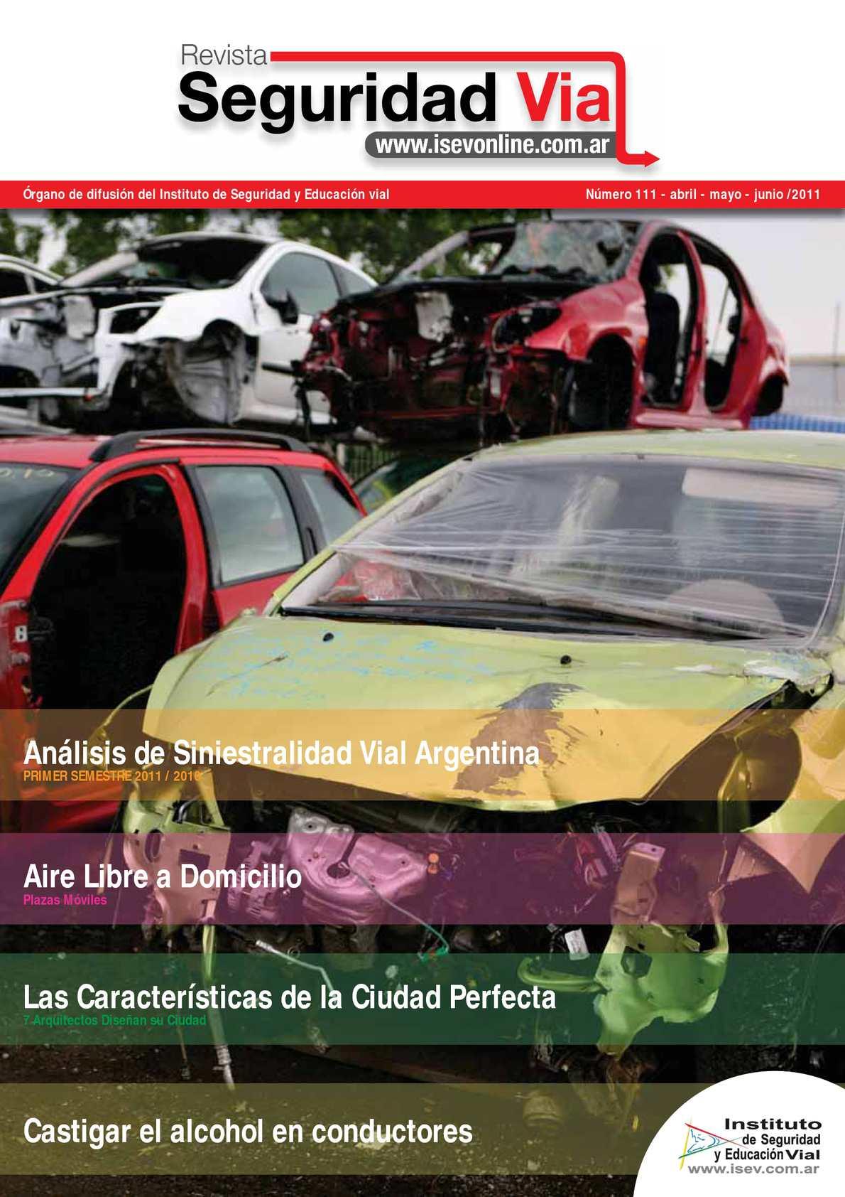 Calaméo - Revista Seguridad Vial 111