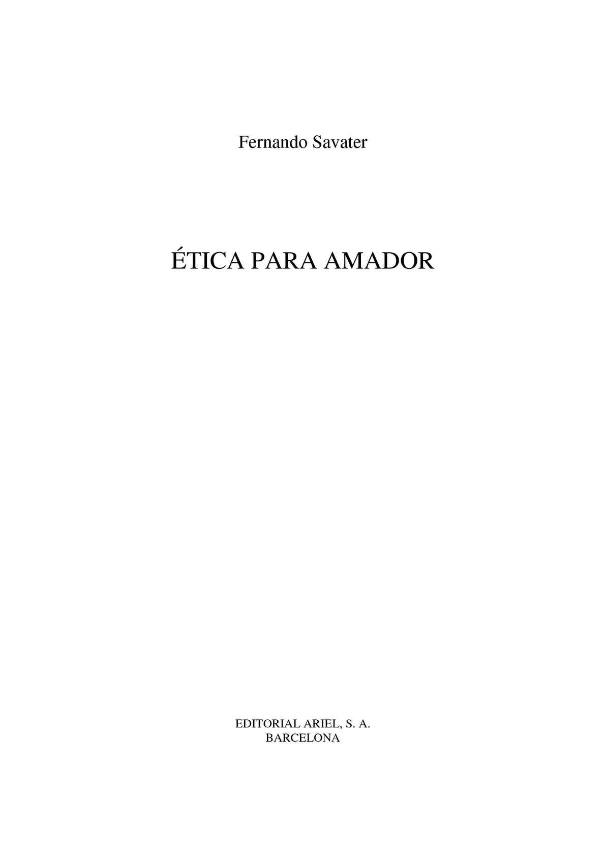 Calaméo - Libro etica.para.amador