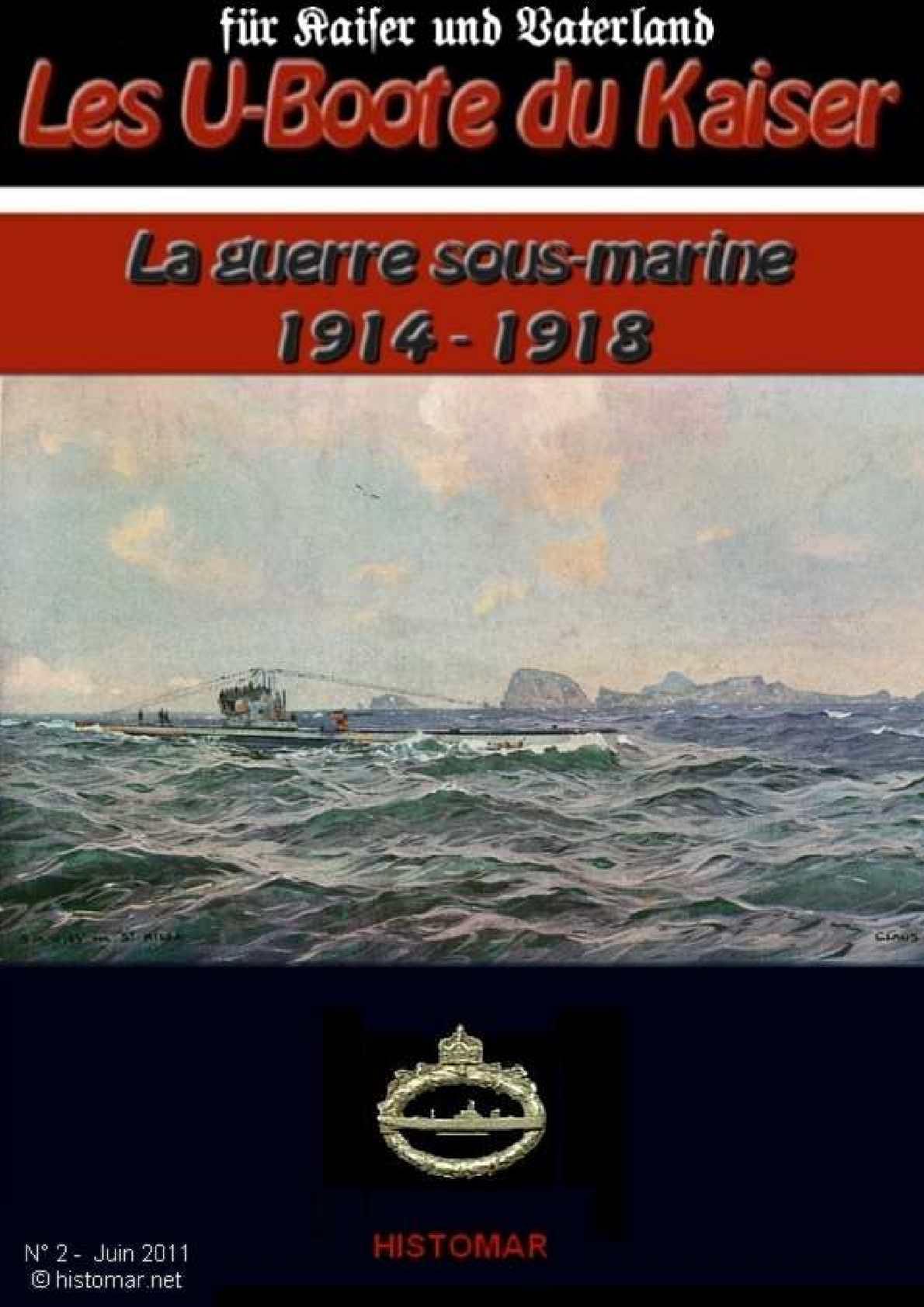 La guerre des U-Boote 1914-1918 - N°2