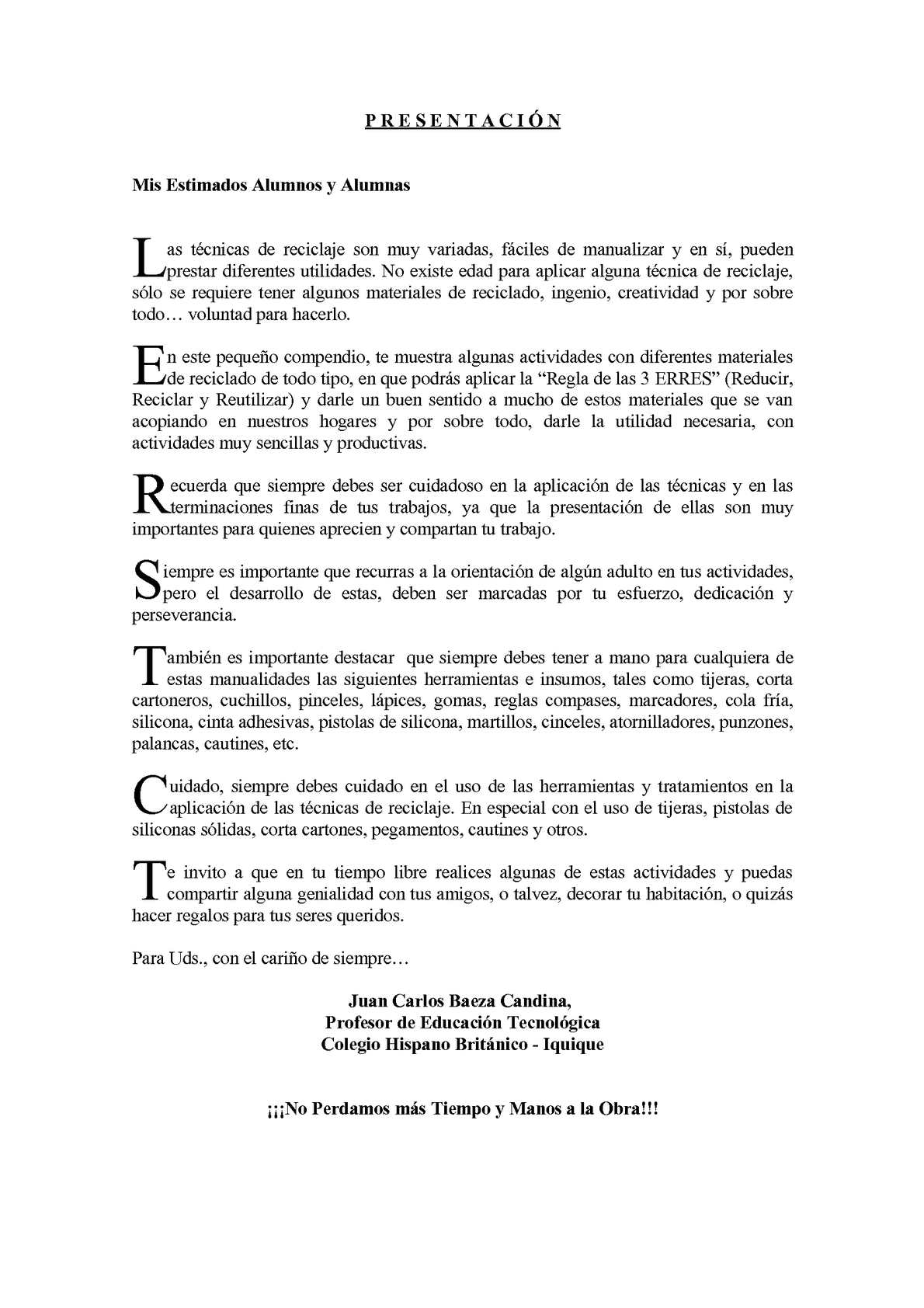 Calaméo - Objetos Tecnológicos de Baja Manufactura