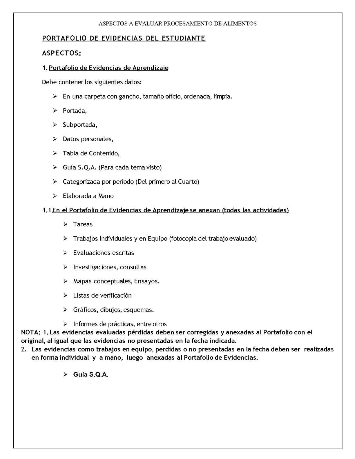 Calaméo - Portafolio Evidencias, Informe Practicas, Lista chequeo y ...