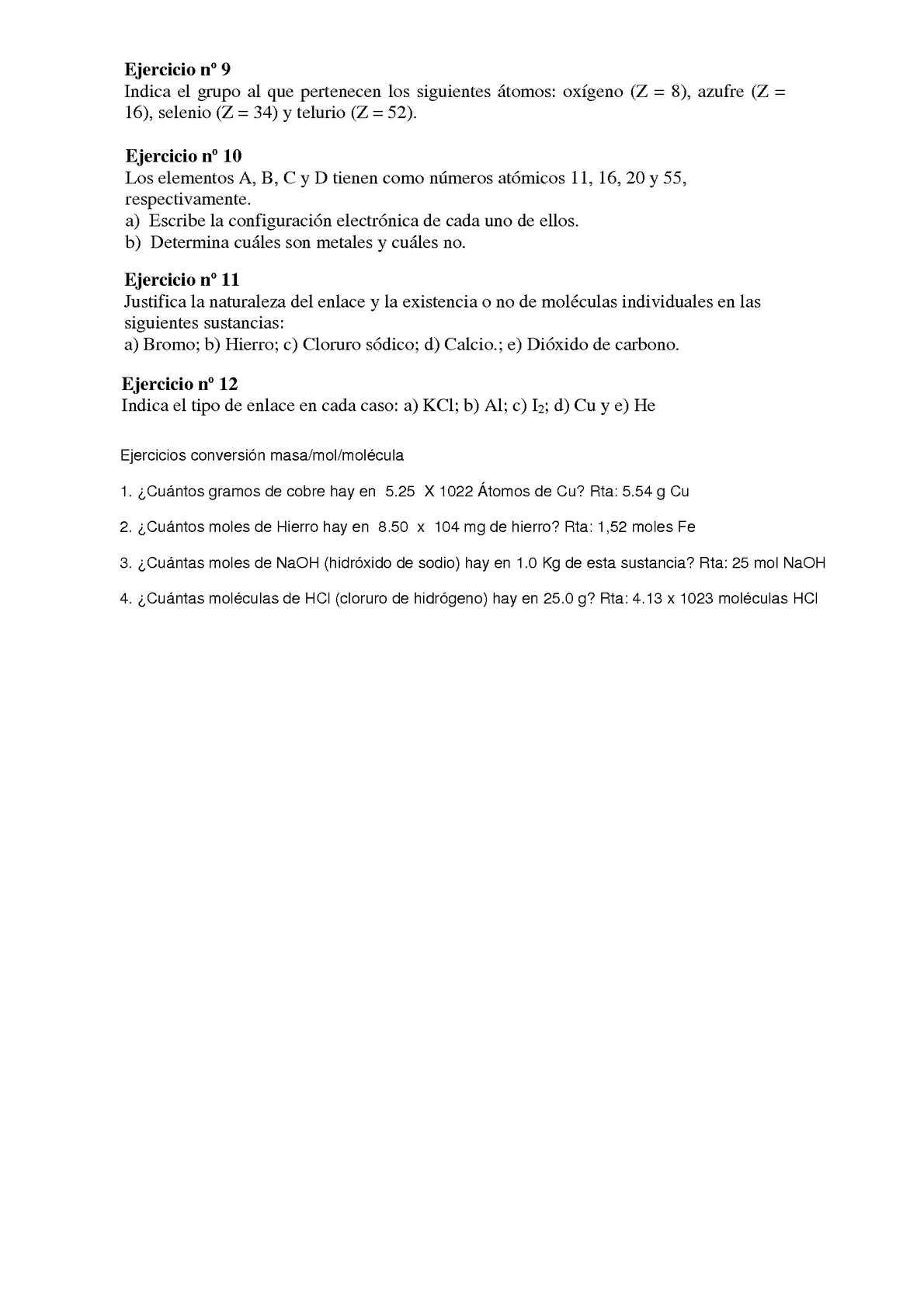 Ejercicios atomos y tabla periodica calameo downloader page 2 urtaz Image collections