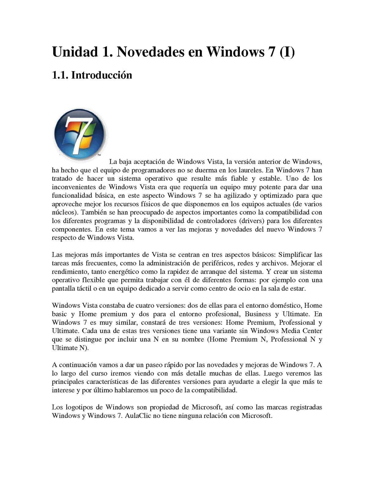 Calaméo - JAMR - Aprende Windows 7