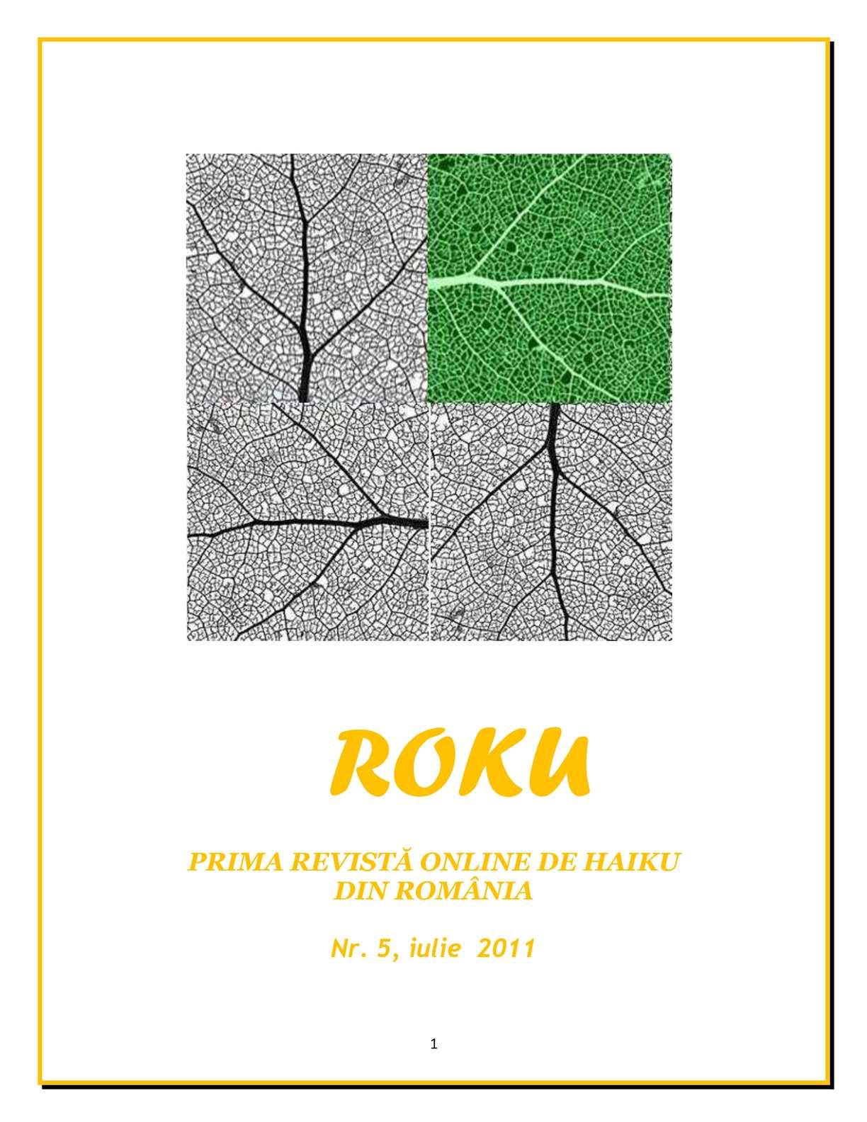 Calaméo Revista Ro Ku Nr 5 August 2011