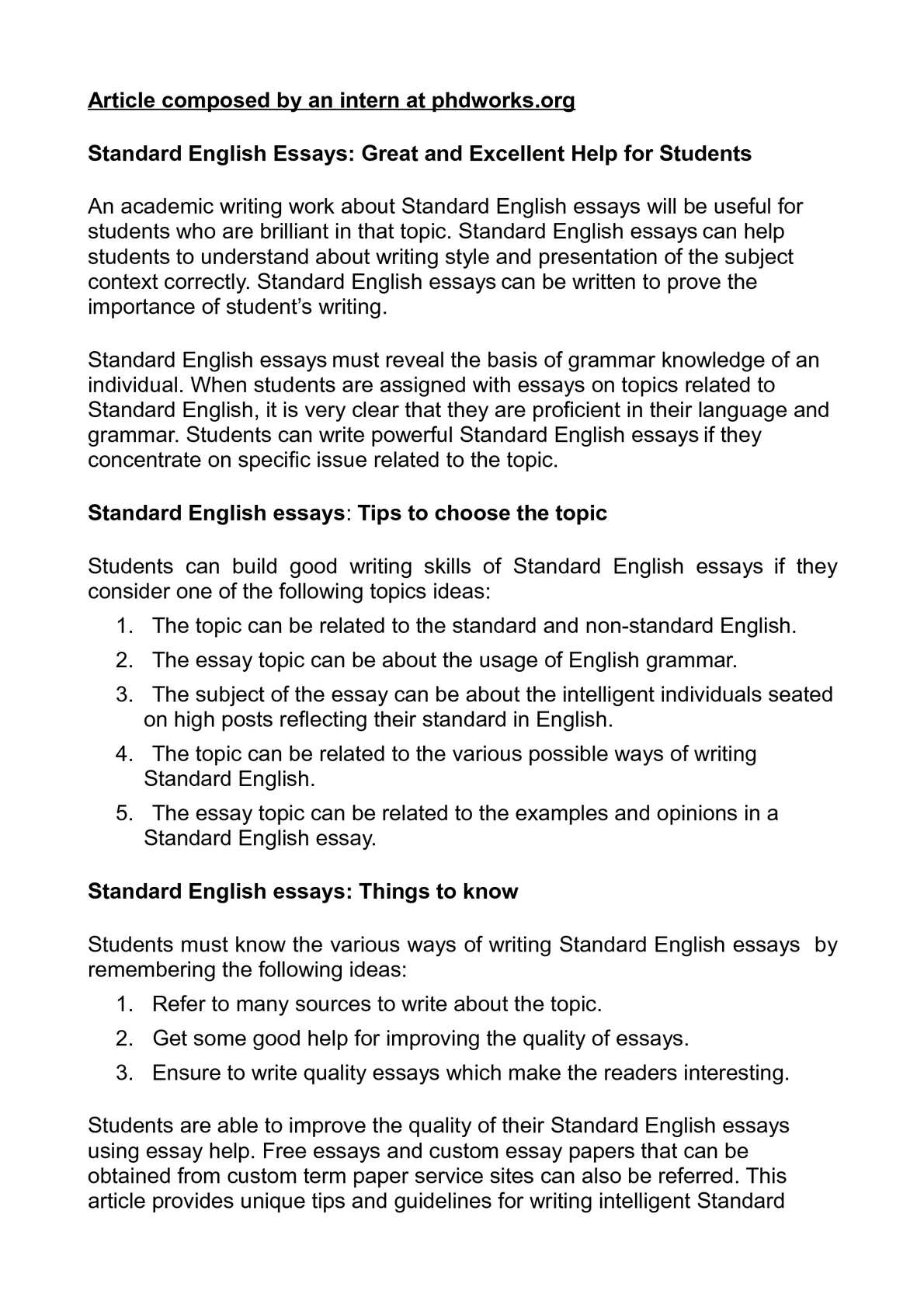 calamo  standard english essays great and excellent help for students