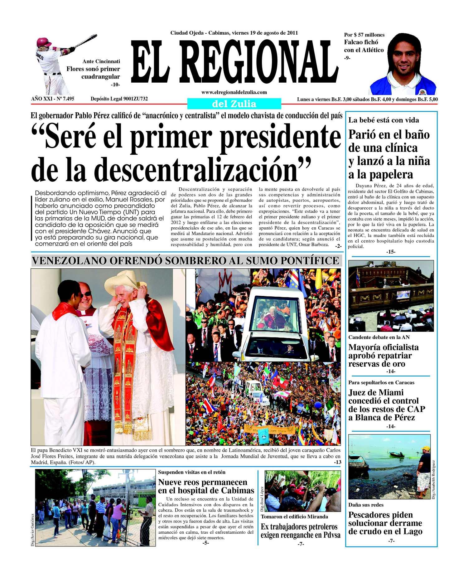 Calaméo - El Regional del Zulia 19-08-2011