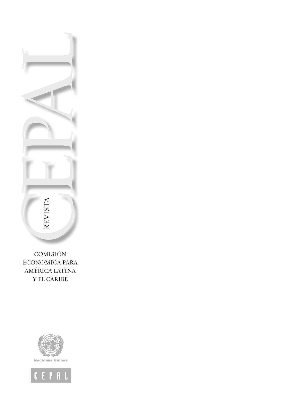 Calaméo - Revista CEPAL - Agosto 2011