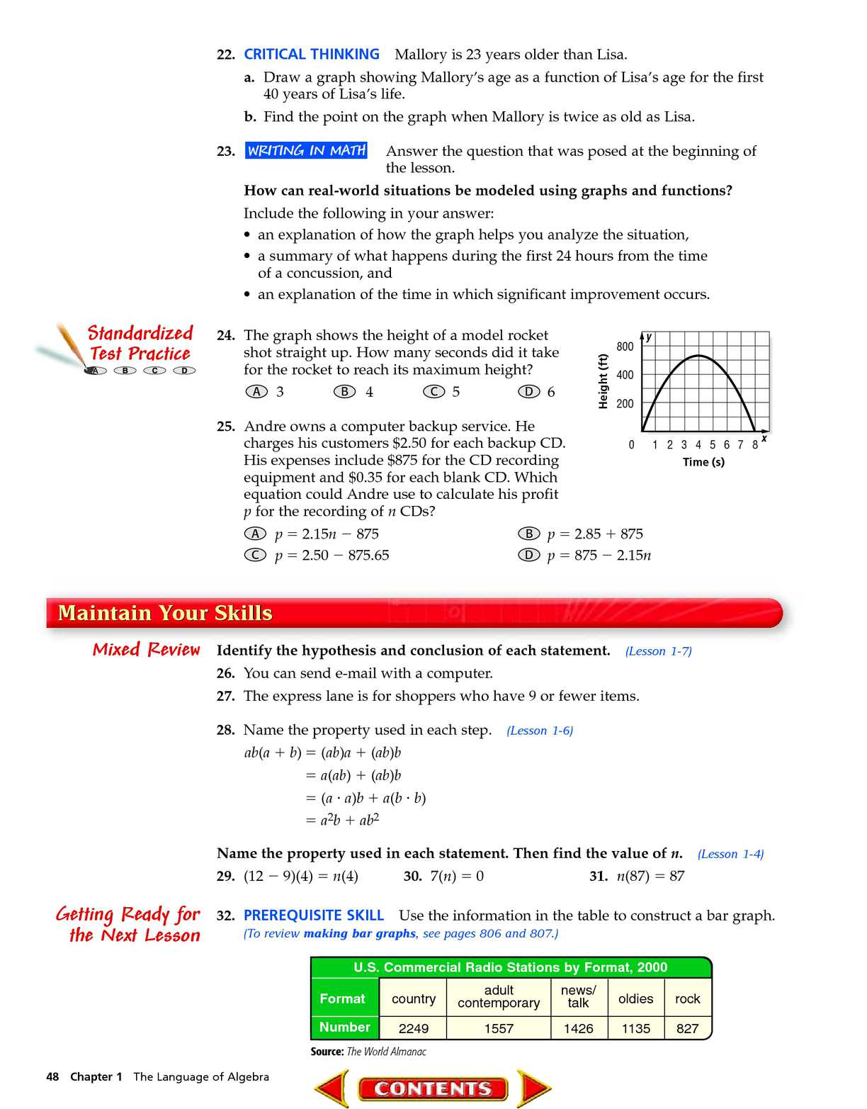 Algebra 1 McGraw-Hill - CALAMEO Downloader