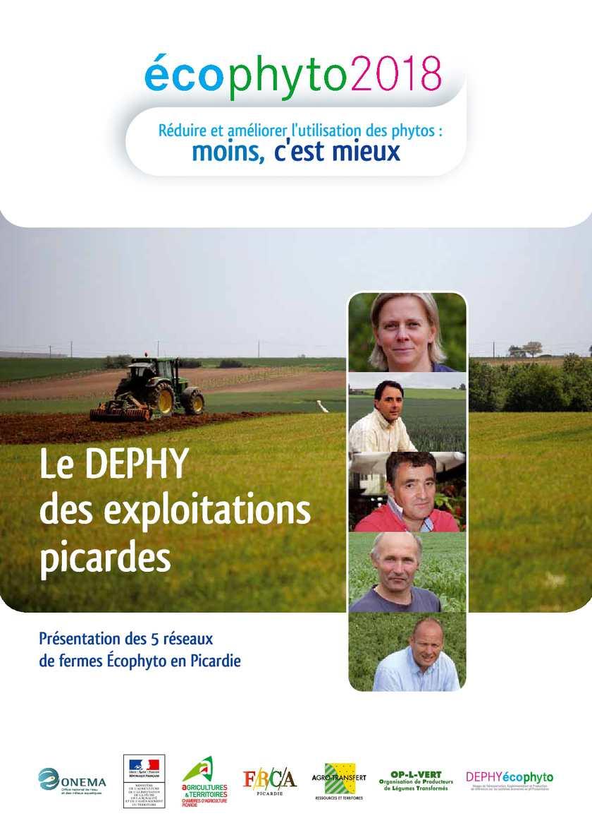 Calam o ecophyto 2018 le dephy des exploitations picardes chambre d 39 agriculture d 39 amiens - Chambre d agriculture de picardie ...
