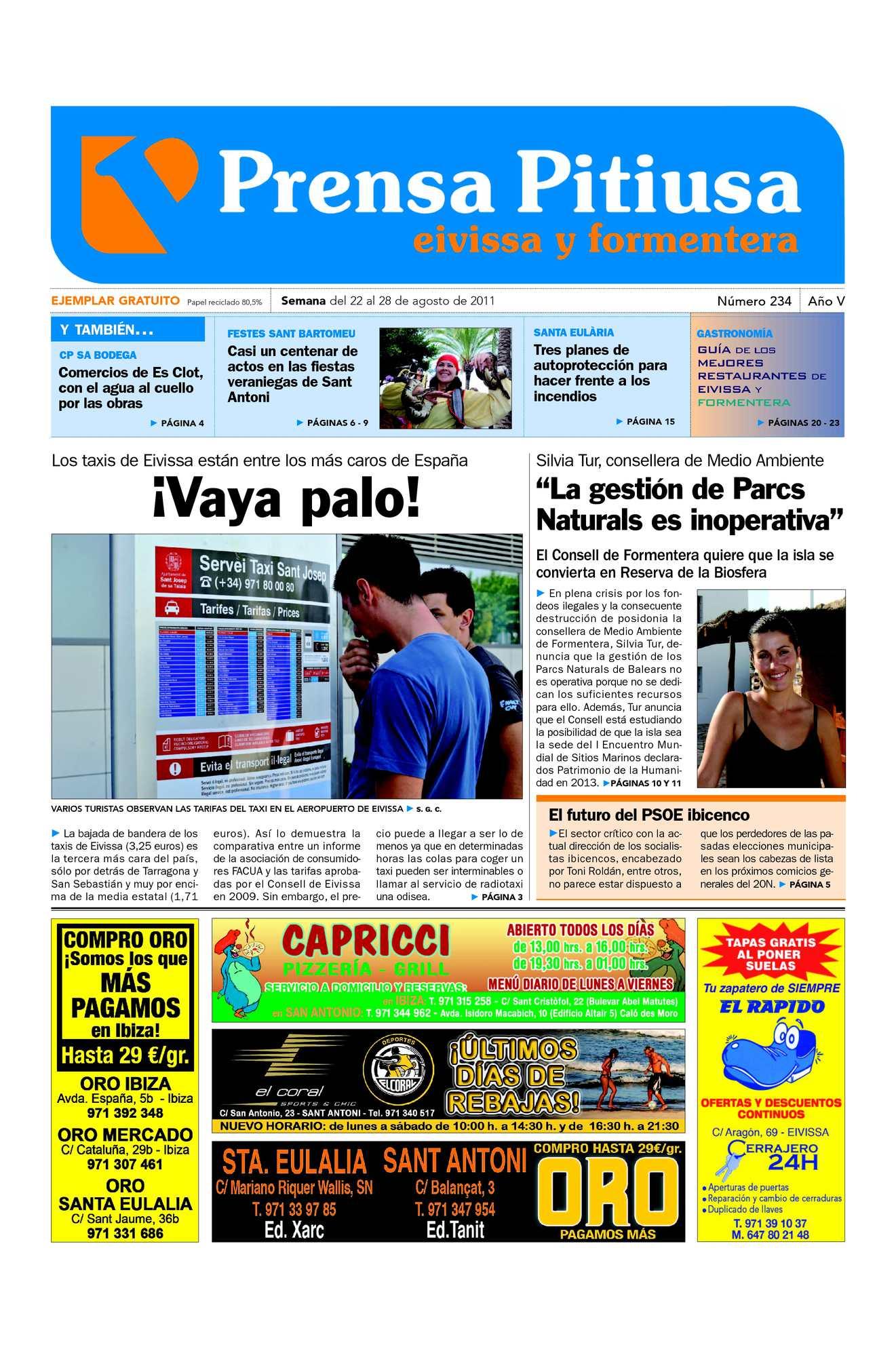 Calaméo - Prensa Pitiusa edición 234