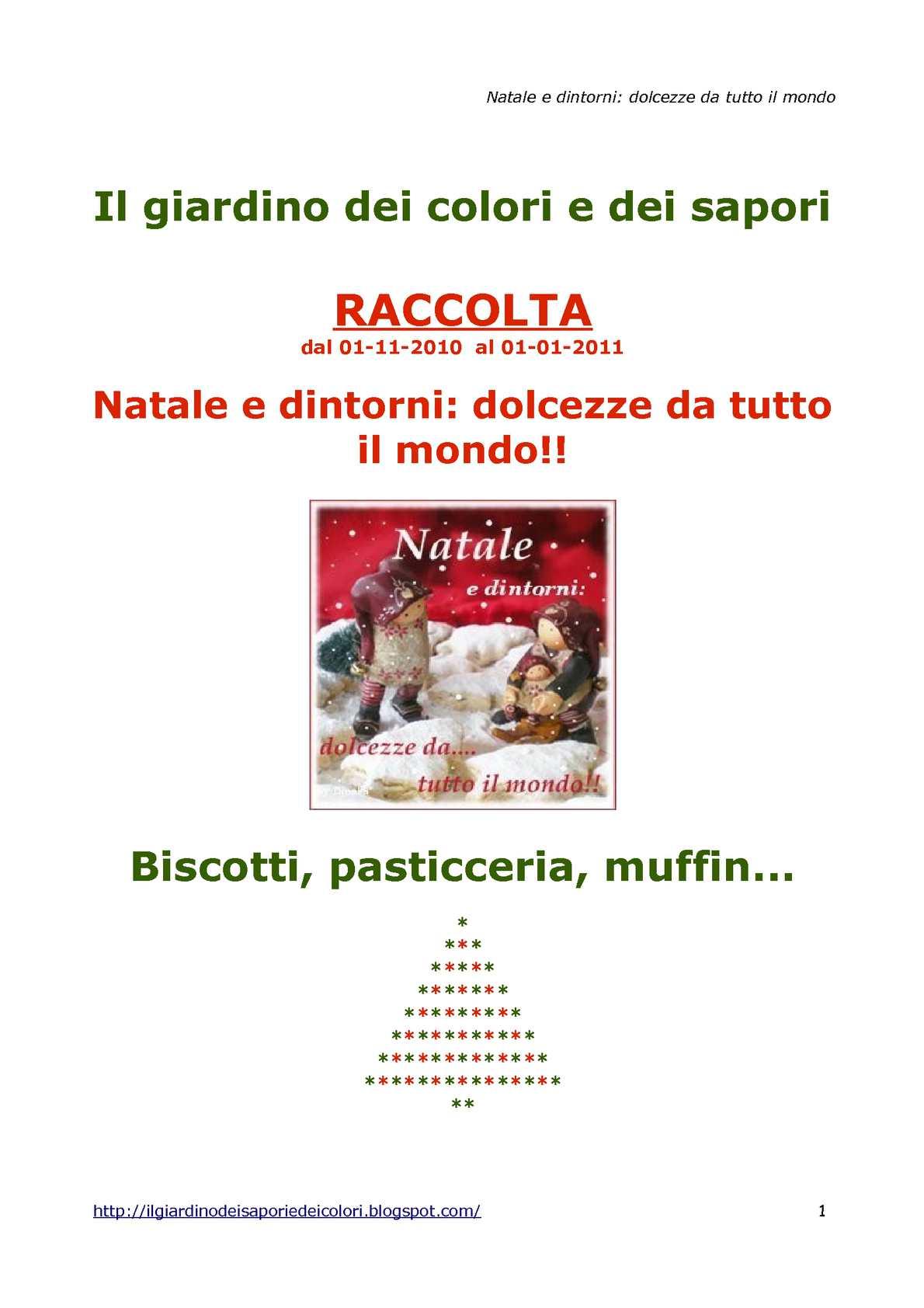 Natale e dintorni: biscotti