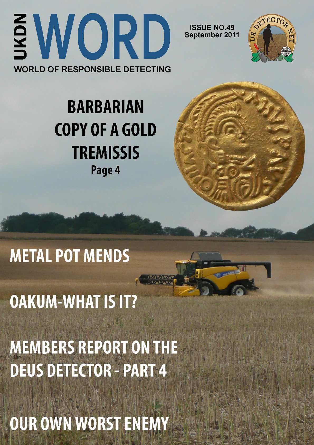 Issue 49 - Sept 2011 - UKDN Word