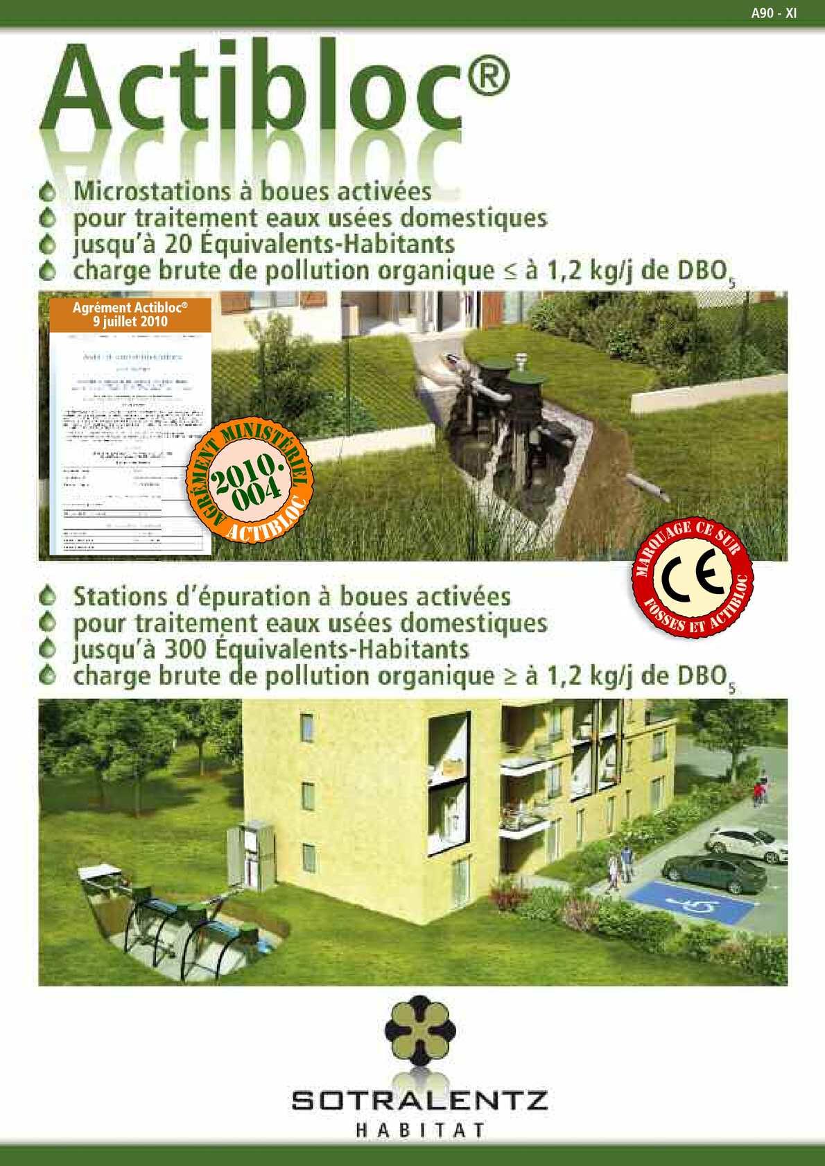 calam o brochure explicative altibloc 20 pages a90 xi. Black Bedroom Furniture Sets. Home Design Ideas