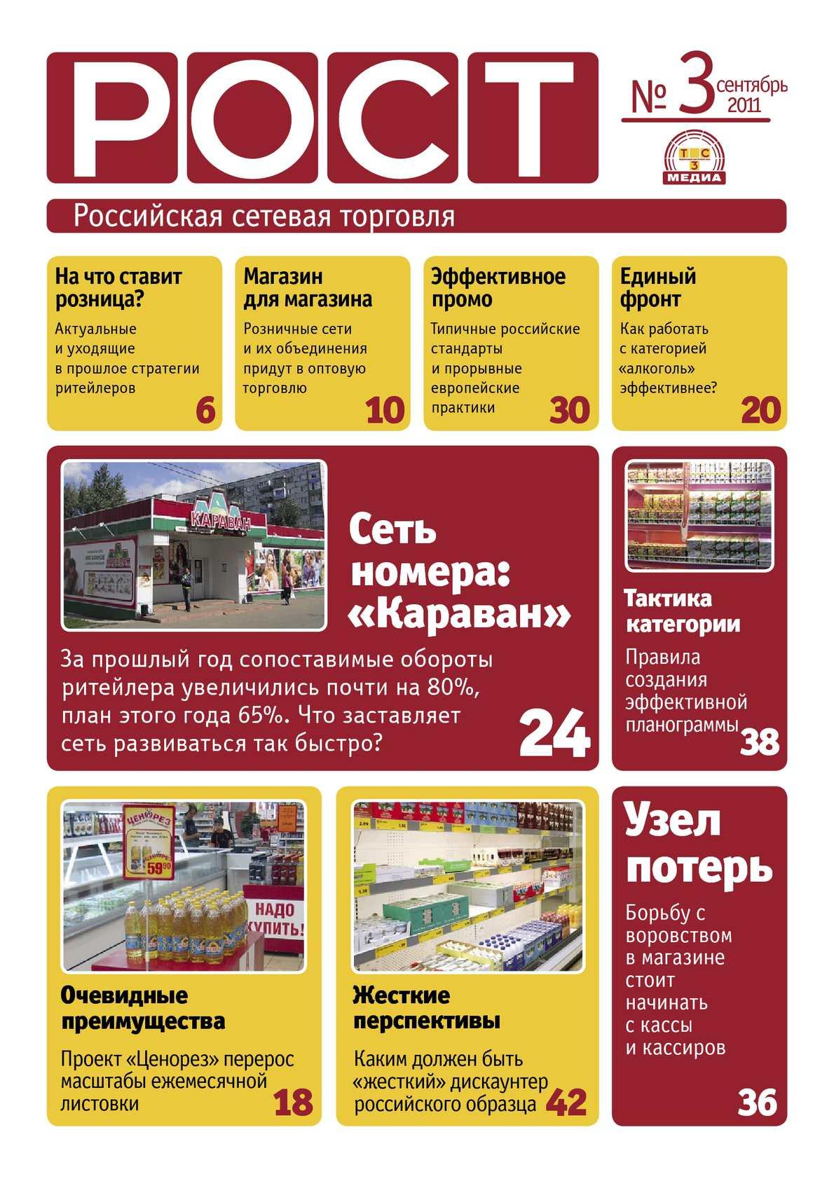 РОСТ. Российская сетевая торговля #3