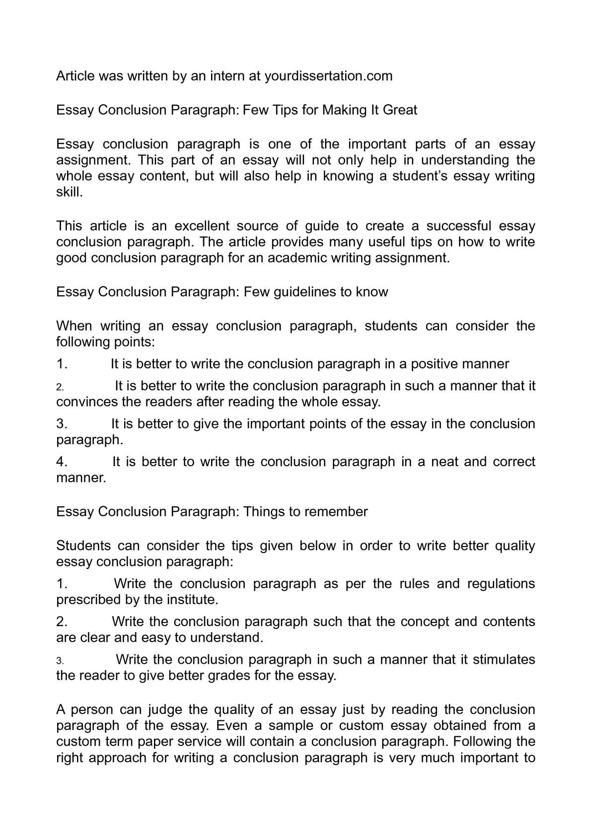 strategies concluding essays Home / writing resources / strategies for essay writing / ending the essay: conclusions this is, after all, your last chance to persuade your readers to your point of view, to impress yourself upon them as a writer and thinker.