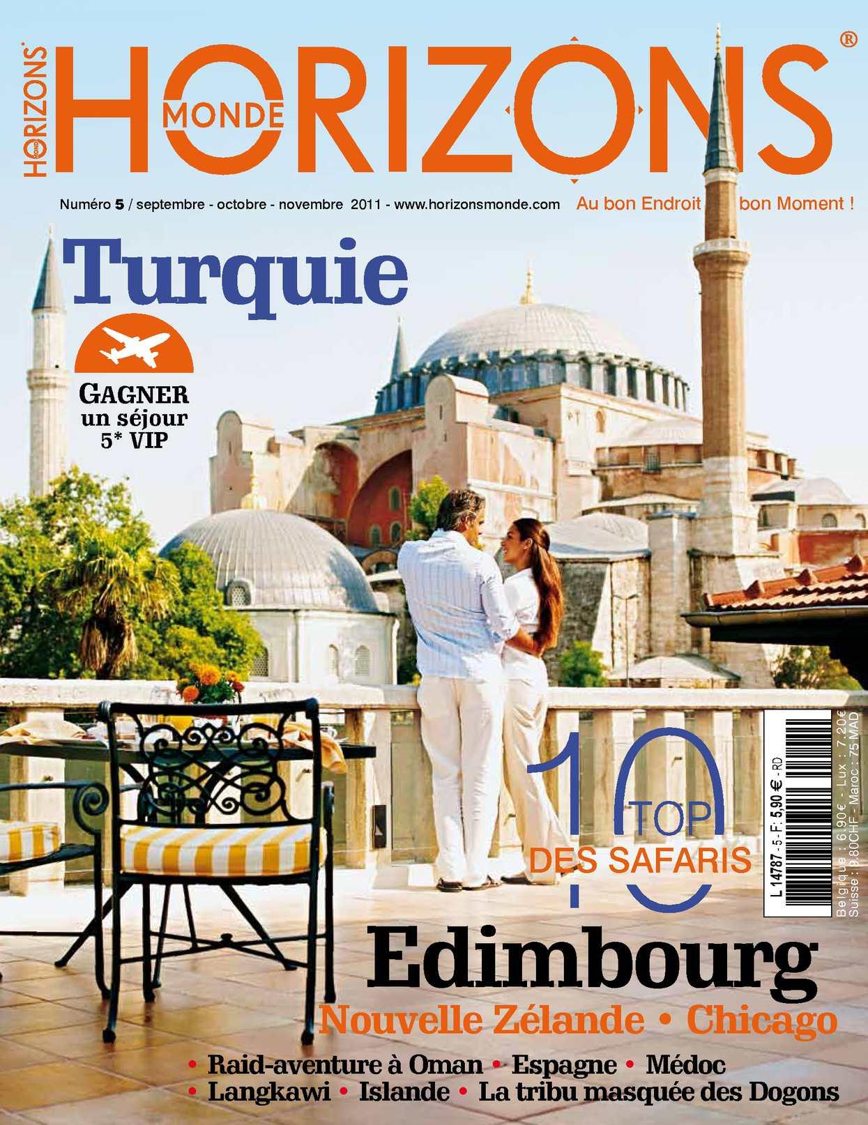 HORIZONS MONDE N°5 Automne 2011