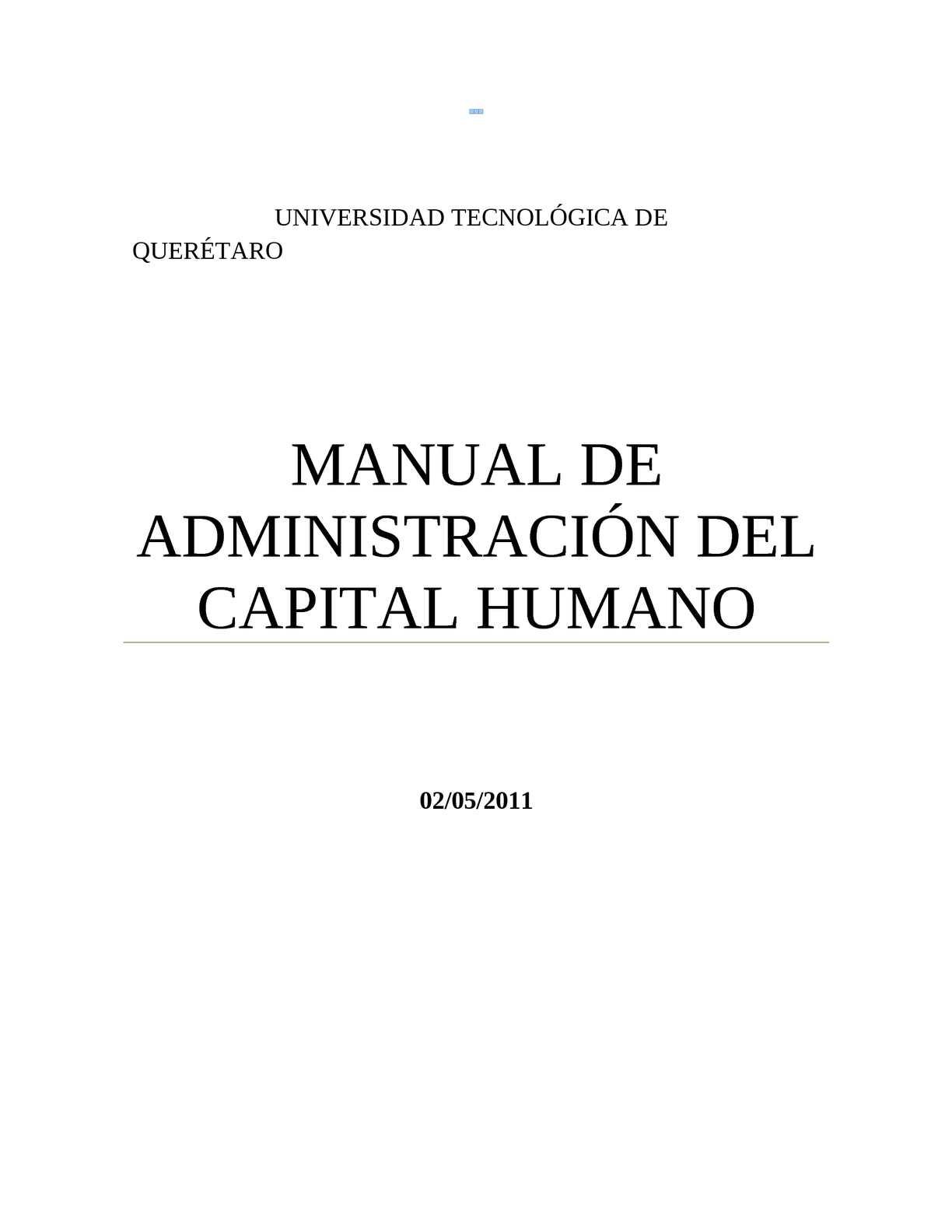 Calaméo - ADMINISTRACION DEL CAPITAL HUMANO APUNTES