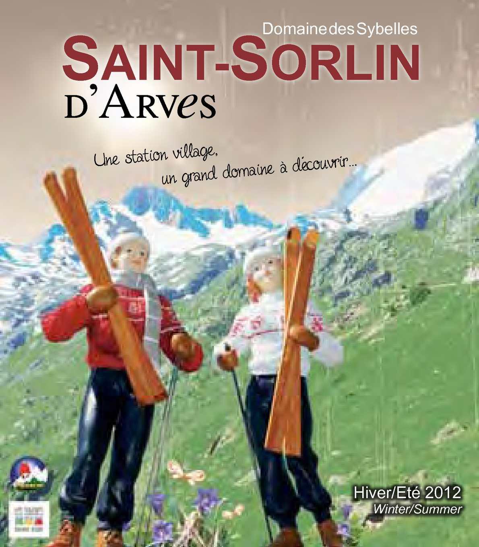 Calam o brochure 2012 st sorlin d 39 arves - Office du tourisme saint sorlin d arves ...