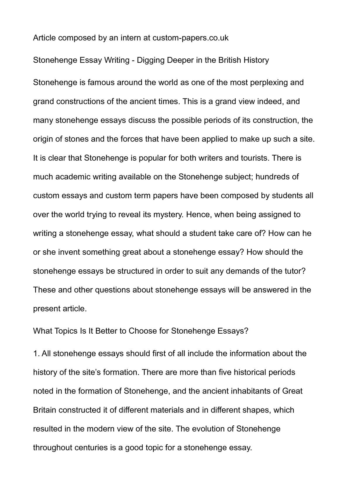 history of essay writing