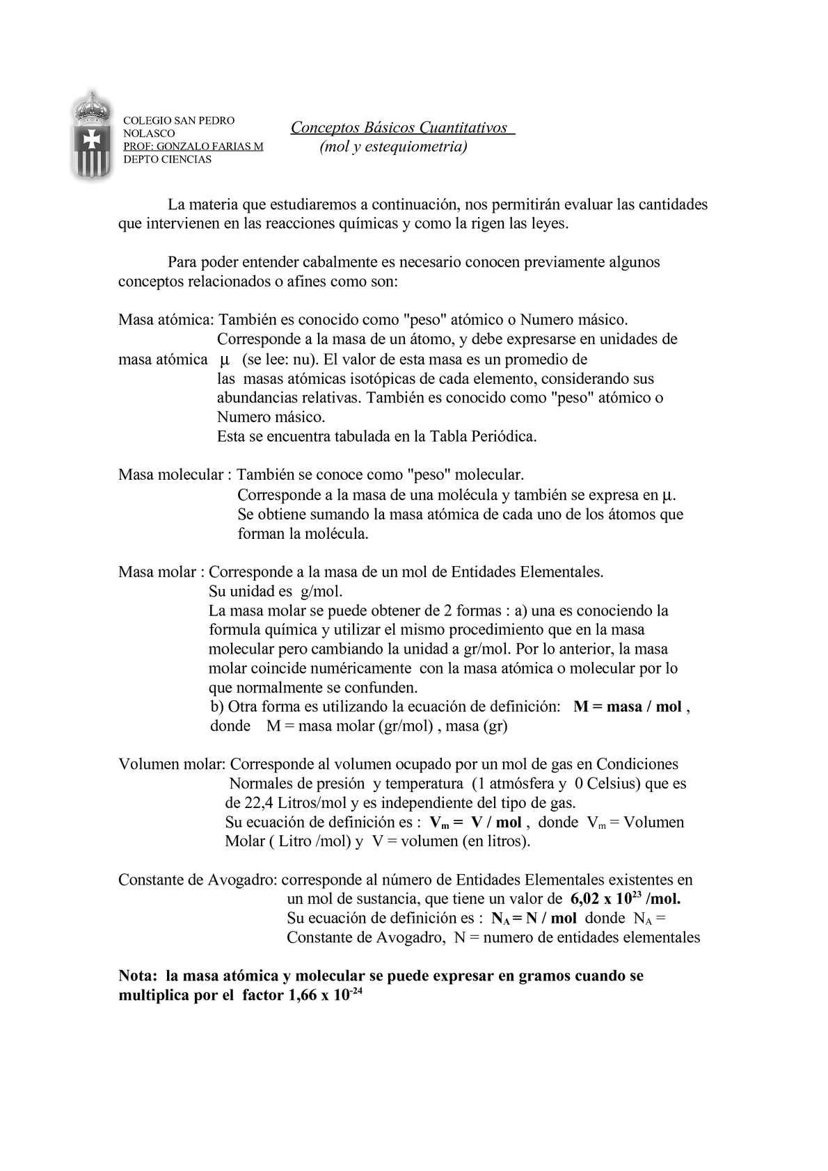 Calamo mol y estequiometra urtaz Image collections