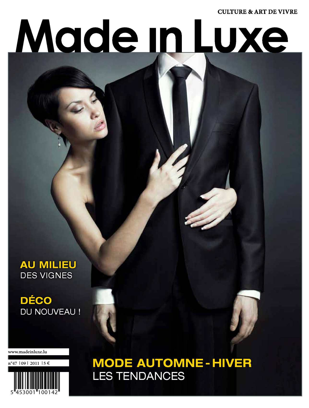 Calam o made in luxe 47 septembre 2011 for Kichechef luxembourg meuble